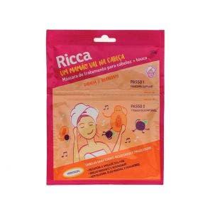 Mascara de Tratamento Capilar Ricca Sache Papaya Blueberry