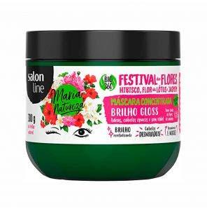 Mascara De Hidratacao Maria Natureza Festival Flores Brilho 300G