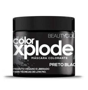 Mascara De Tratamento Beauty Color Xplode Preto Blackout 300G