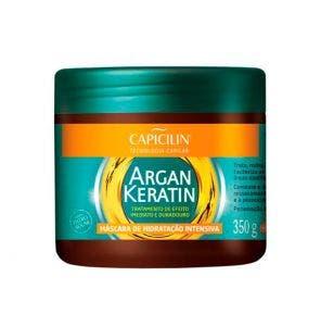 Mascara De Tratamento Capicilin Argan Keratin 350G