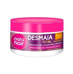 Mascara De Tratamento Natu Hair Desmaia Total 350G