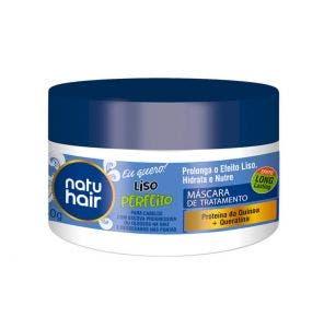 Mascara De Tratamento Natu Hair Liso Perfeito 350G