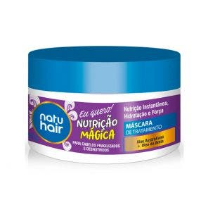 Mascara De Tratamento Natu Hair Nutricao Magica 350G