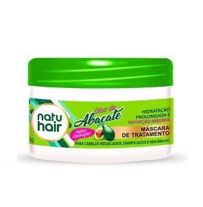 Mascara De Tratamento Natu Hair Oleo De Abacate 350G