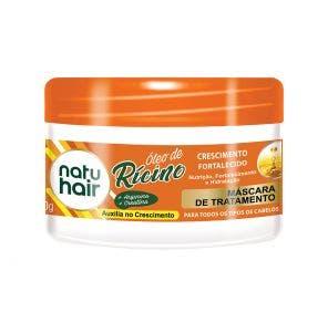Mascara De Tratamento Natu Hair Oleo De Ricino 350G