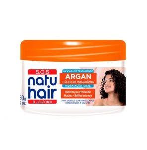 Mascara De Tratamento Natu Hair Sos Argan 350G