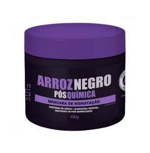 Mascara De Tratamento Salon Opus Arroz Negra 400G
