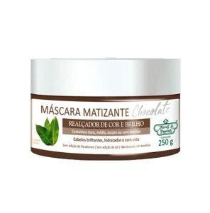 Mascara Matizante Flores E Vegetais Chocolate 250G