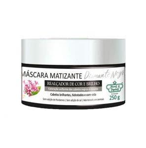 Mascara Matizante Flores E Vegetais Diamamte Negro 250G