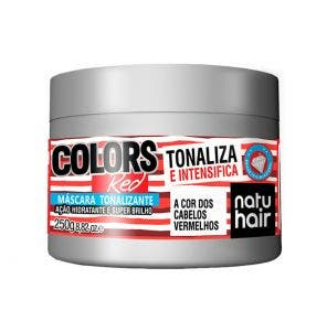 Mascara Tonalizante Natu Hair Red 250G