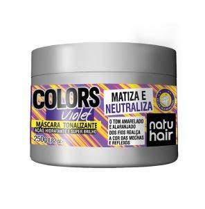 Mascara Tonalizante Natu Hair Violeta 250G