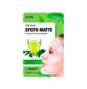 Mascara Facial Kiss Efeito Matte Cha Verde