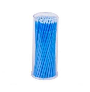 Micro Bastão De Plástico Vermonth Com100 unidades Azul