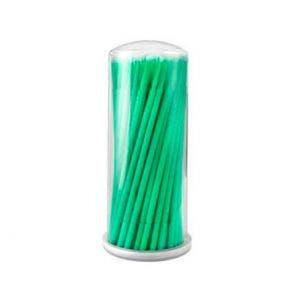 Micro Bastão De Plástico Vermonth Com 100un Verde