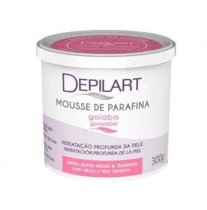 Mousse De Parafina Depilart Goiaba 300G