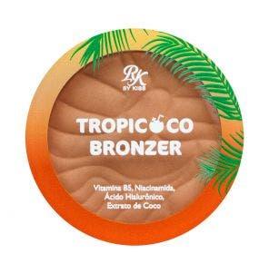 Pó Compacto Rk By Kiss Tropicoco Bronzer Pé Na Areia Rbz02br