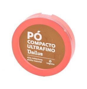 Pó Compacto Facial Dailus Vegano D8 Médio
