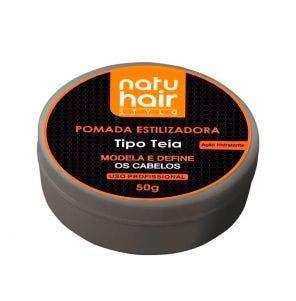 Pomada Natu Hair Estilizadora Teia 50g