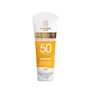 Protetor Solar Australian Gold Gel Creme Fps50 200g
