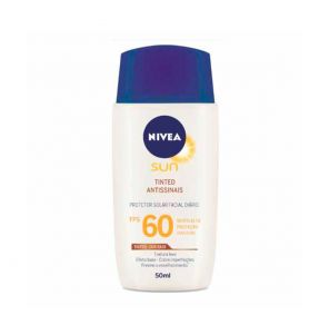 Protetor Solar Facial Nivea Fps60 Tinted Antissinais 50ml