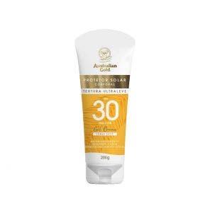 Protetor Solar Australian Gold Gel Creme Fps30 200gr