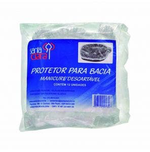 Protetor De Bacia Manicure Santa Clara - 12 Unidades