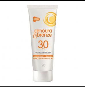 Protetor Solar Cenoura e Bronze Fps 30 Facial 50gr