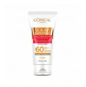 Protetor Solar Facial Loreal FPS60 Antirrugas 50g