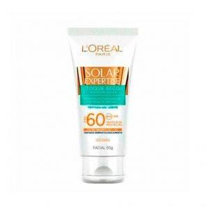 Protetor Solar Facial Loreal FPS60 Toque Seco 50g