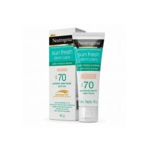 Protetor Solar Neutrogena Fps70 Facial Oil Clara 40gr