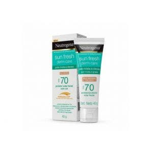 Protetor Solar Neutrogena Fps70 Facial Oil Morena 40gr