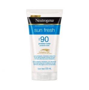 Protetor Solar Neutrogena Sun Fresh Fps90 120ml