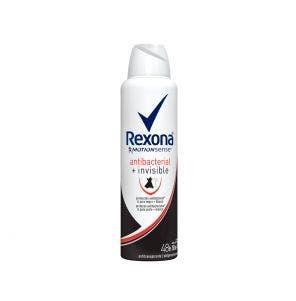 Desodorante Aerosol Rexona Fem Invisible Antibacteriano 150ml