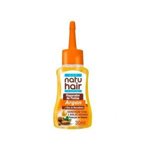 Reparador De Pontas Natu Hair Argan E Macadamia 30Ml