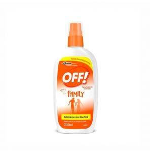 Repelente Off Spray Family 200ml