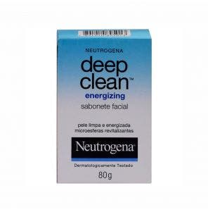 Sabonete Facial Energizing Neutrogena Deep Clean 80g