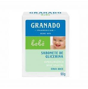 SABONETE INFANTIL GRANADO GLICERINA ERVA DOCE 90G