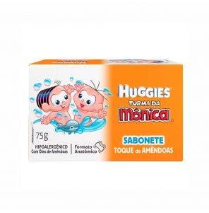 SABONETE INFANTIL TURMA DA MONICA HUGGIES 75G