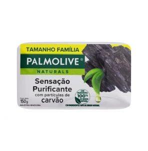 Sabonete Palmolive Naturals Sensível Purificante Carvão 150g