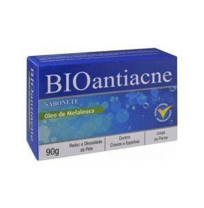 Sabonete Bioantiacne Óleo De Melaleuca 90G