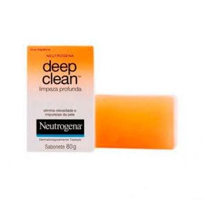 Sabonete Facial Limp Prof Neutrogena Deep Clean 80g