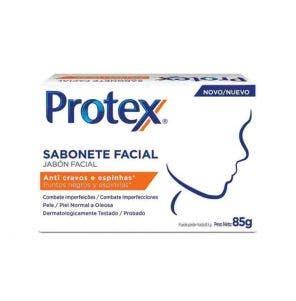 Sabonete Facial Protex Anti Cravos 85G