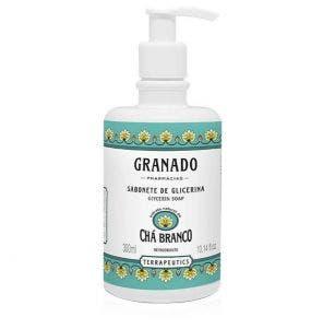 Sabonete Liquido Granado Glicerina Terrapeutics Cha Branco 300Ml