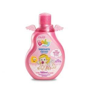 Sabonete Liquido Infantil Muriel Baby Menina 100Ml