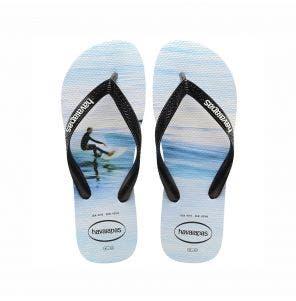 Sandália Havaianas Hype 39/0 Branco/Wave