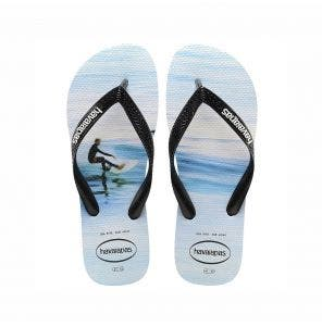 Sandália Havaianas Hype 41/2 Branco/Wave