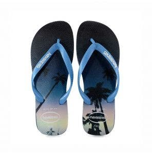 Sandália Havaianas Hype 43/4 Marinho/Azul Aço
