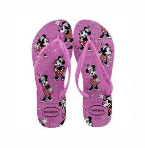 Sandália Havaianas Slim Disney 35/6 Ice Pink