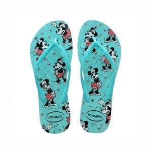 Sandália Havaianas Slim Disney 37/8 Ice Blue