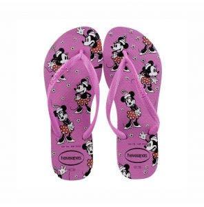 Sandália Havaianas Slim Disney 37/8 Ice Pink